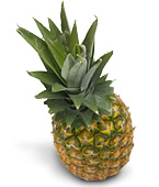 pineapple and noni fruit